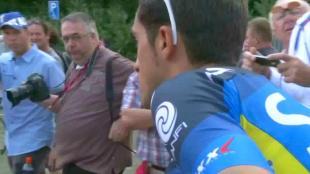 La rentrée de Contador à l'Eneco Tour