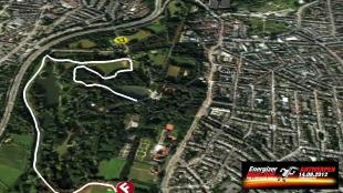 Parcours Energizer Night Run 2012
