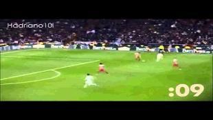 Ronaldo sprint bijna zo snel als Bolt