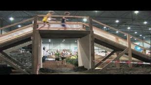 500 deelnemers op eerste indoor trail in Benelux