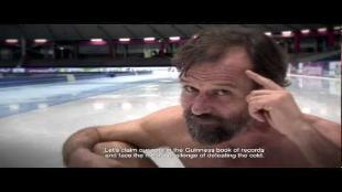 Nederlanders gaan voor wereldrecord ijslopen
