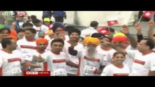 Oudste marathonloper loopt laatste wedstrijd