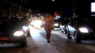 Bikini-jogster krijgt 5 euro boete