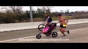 Man met hersentumor wint marathon