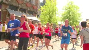 Opnieuw 7.000 lopers op Dwars door Brugge