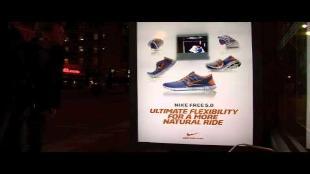 Nike lanceert holografische 3D-advertenties