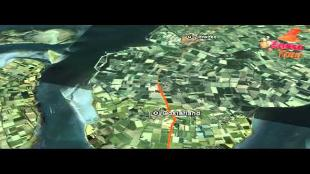 Virtual Track - Rit 3: OOSTERHOUT - BROUWERSDAM