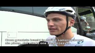 Kittel: 'Als je iets wil bereiken, moet je hard trainen'