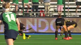 Red Panthers stoten door na winst tegen Ierland