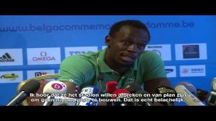 Usain Bolt: 'Brusselse publiek stuwt me naar grootse tijden'