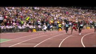 Herbeleef de triomf van Usain Bolt!