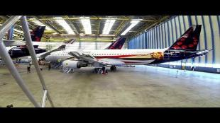 Rode Duivels krijgen gepersonaliseerd vliegtuig