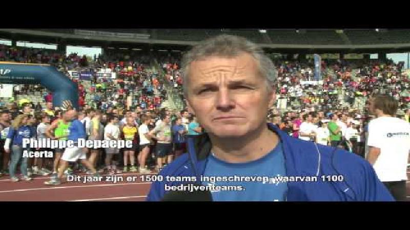 Valois Sport Team 2 wint Acerta Brussels Ekiden