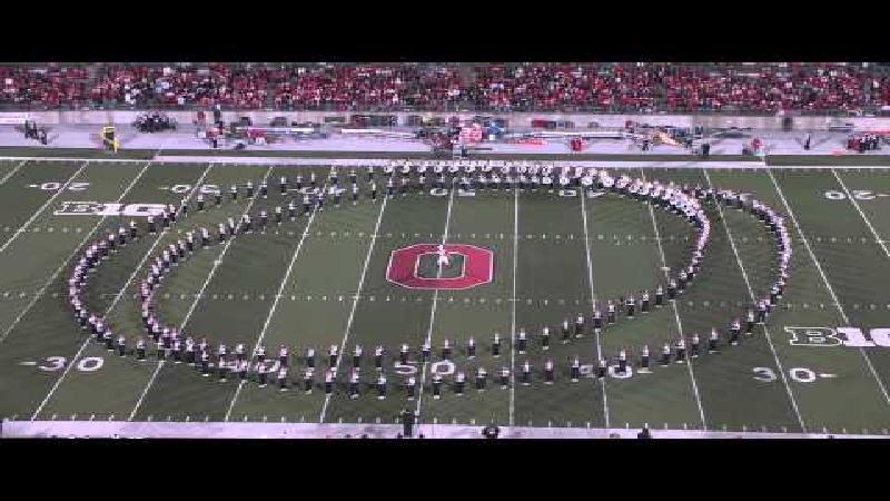 Ohio State University Marching Band doet het weer