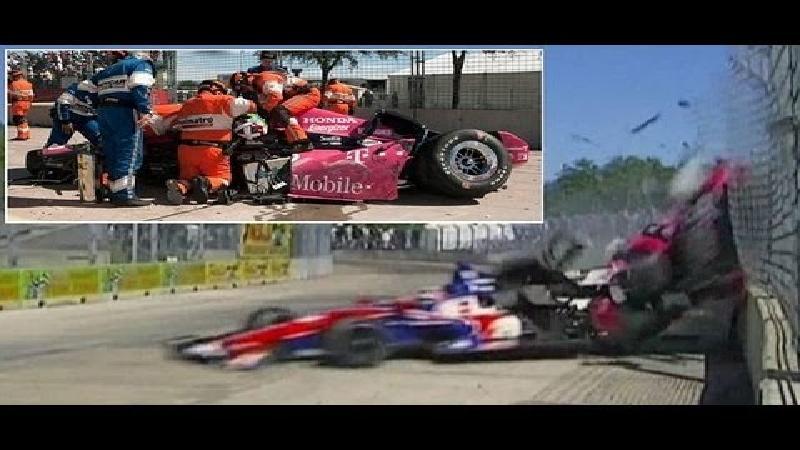 Franchitti komt niet meer terug na zware crash