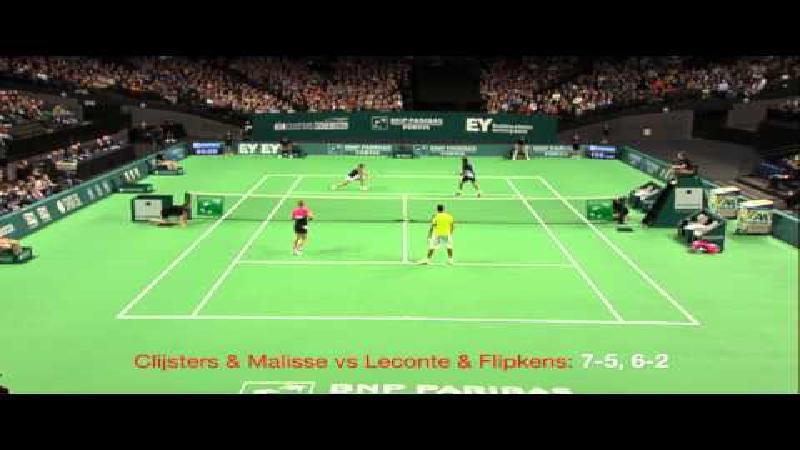 Publiek grote winnaar tijdens Kim Clijsters Invitational