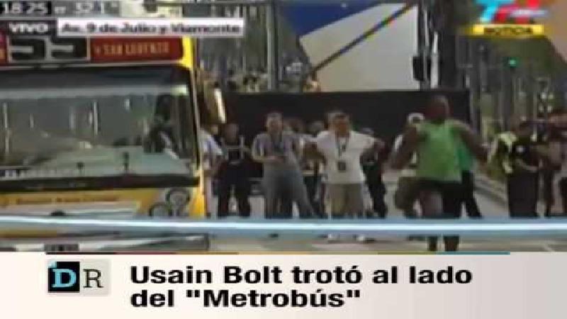 Bolt klopt bus