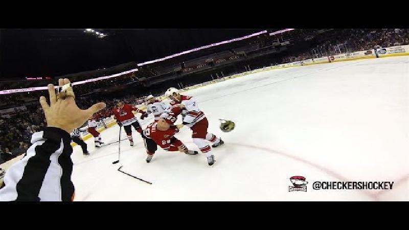 IJshockey door de ogen van de scheids