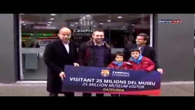 25 miljoen bezoekers voor Barcelona