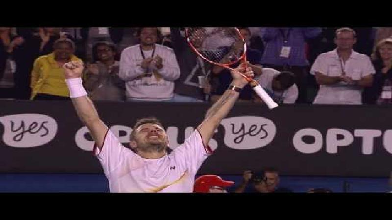 Bekijk de mooiste emoties van de Australian Open