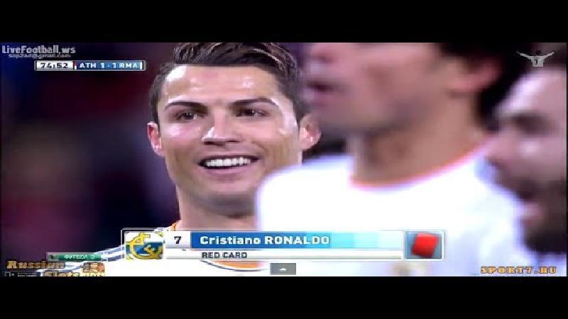 Ronaldo is drie speeldagen geschorst