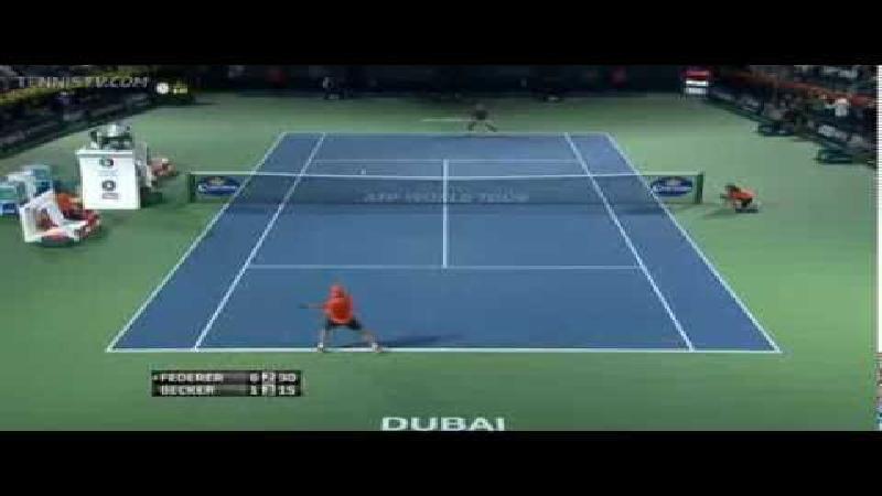 Federer is nog steeds een genie op het tennisveld