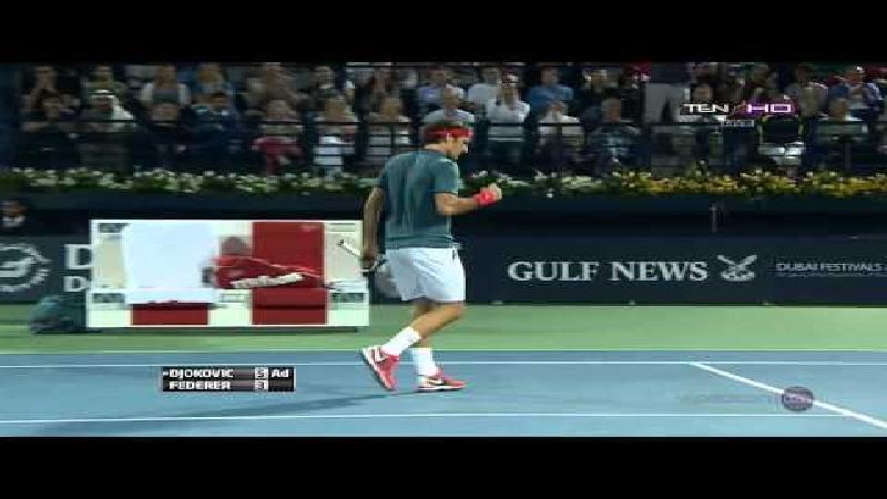 Djokovic klapt voor Federer