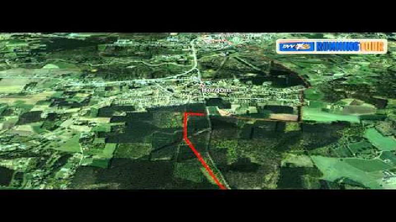 Abdijentocht 2014 - Virual track