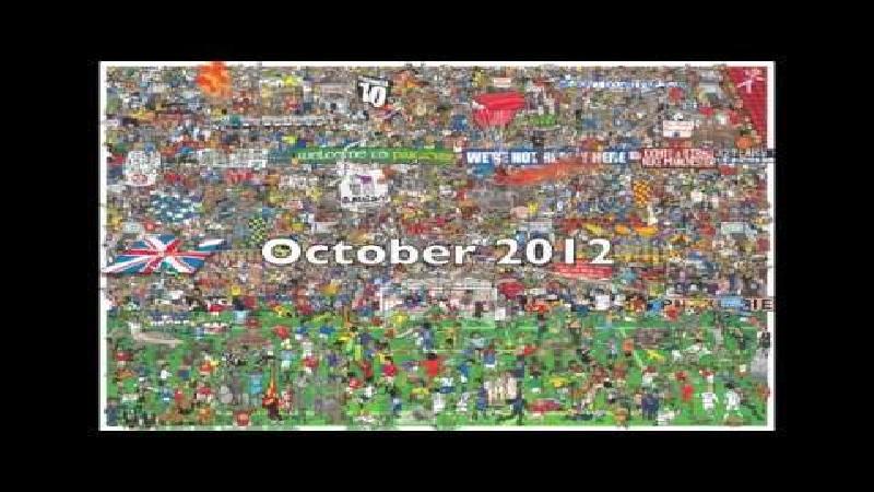 De voetbalgeschiedenis in één tekening