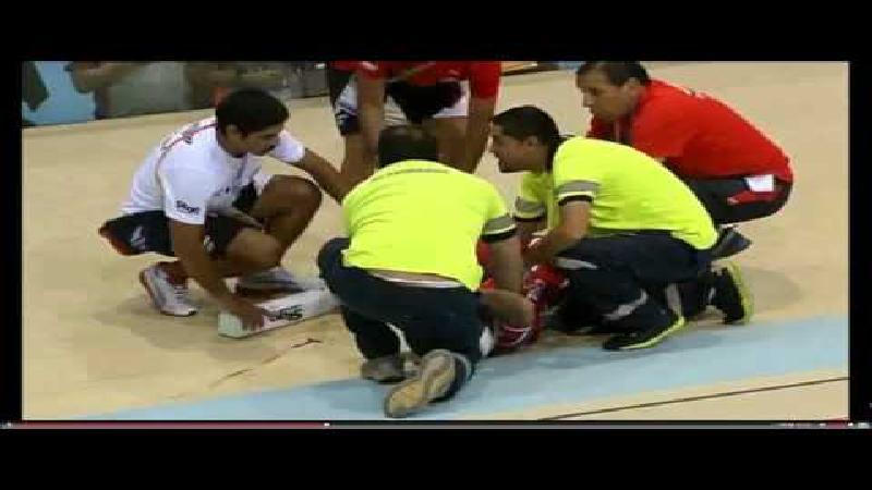 Verschrikkelijk piste-ongeluk op Zuid-Amerikaanse Spelen