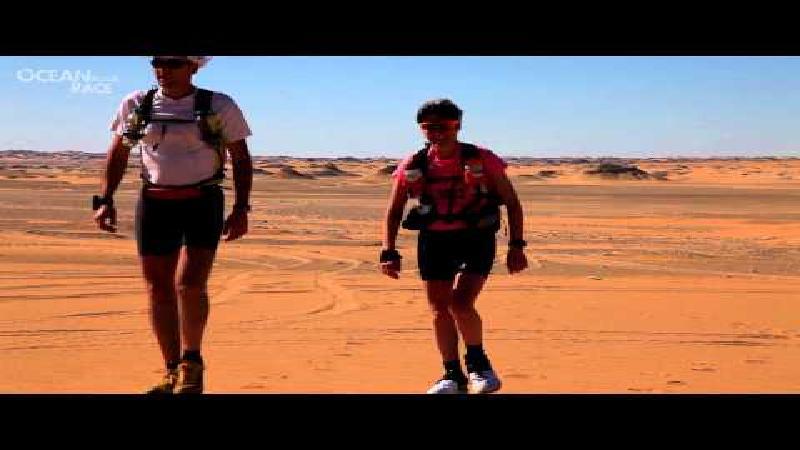 Non-stop loopwedstrijd van 260 km in de Sahara