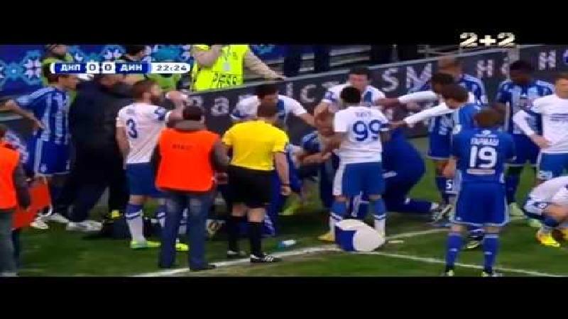 Speler Dnipro redt leven kapitein Dinamo Kiev
