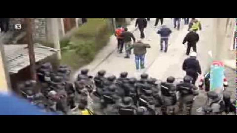 Standard-hooligans geïnspireerd door Serviërs?