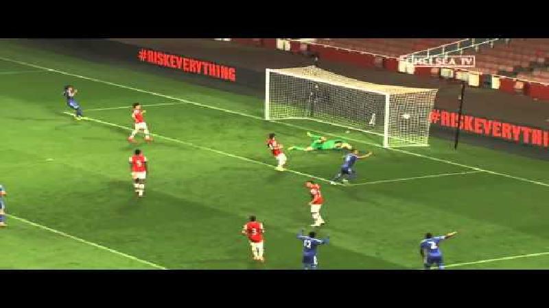 Jeugdtalent van Chelsea scoort schitterend doelpunt