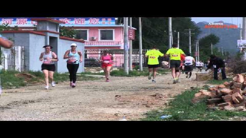Marathon op de Chinese Muur