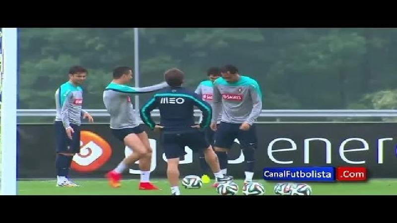 Het Braziliaanse dansje van Ronaldo