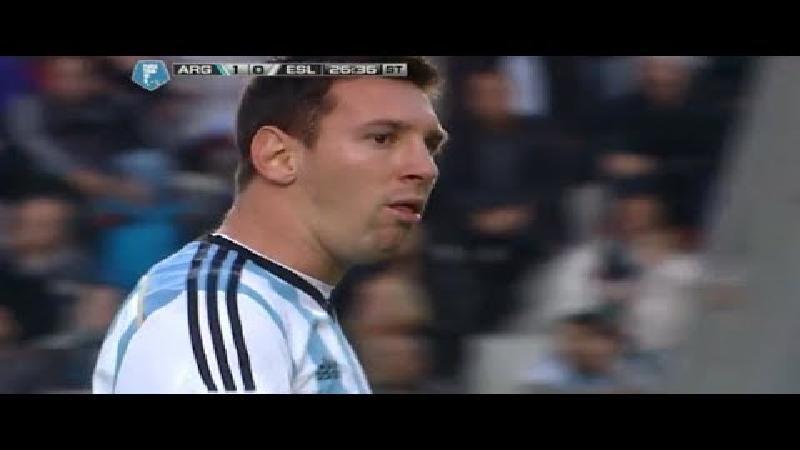 Heeft kokhalzende Messi last van stress?