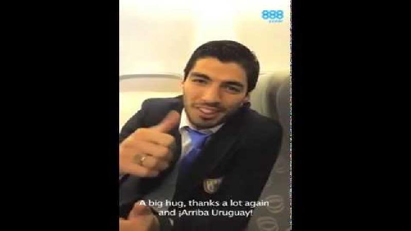 Positieve signalen voor Luis Suarez