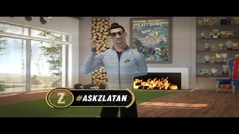 Stel uw vraag aan Zlatan Ibrahimovic