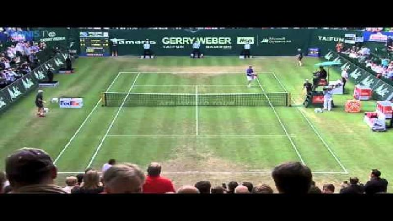 Federer beseft niet dat hij gewonnen heeft