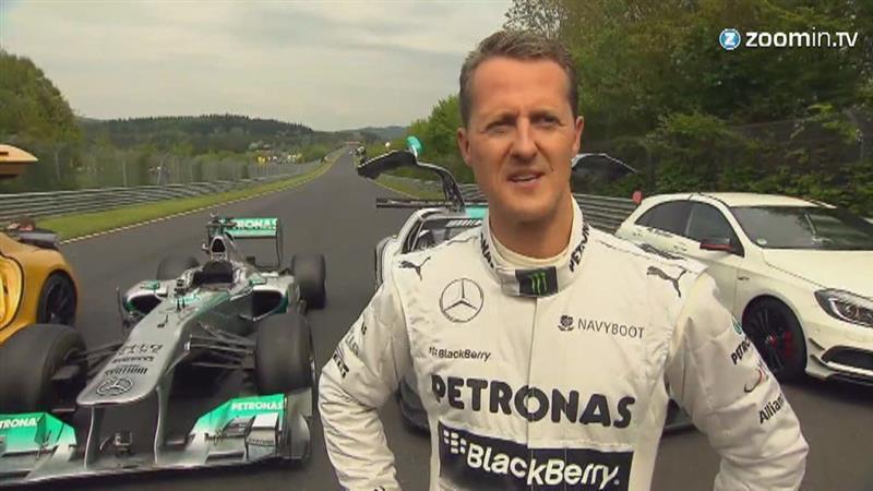 Schumacher ontwaakt
