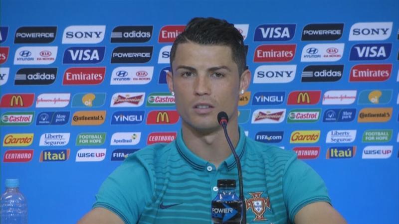 Ronaldo: 'Ik ben 100 procent, geen 110'