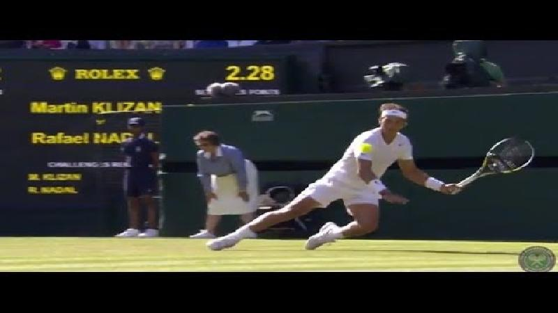 Nadal: vallen, opstaan en scoren