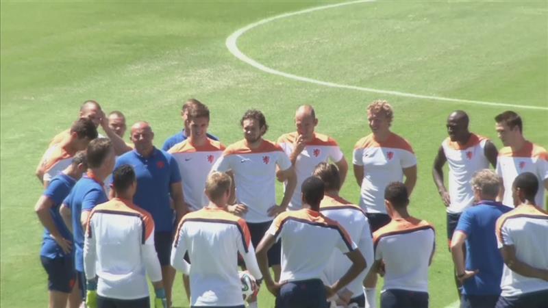 Van Gaal rekent op Sneijder om te schitteren