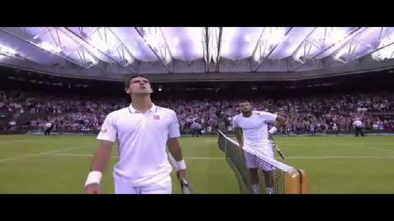 'Djokovic slaat één van de beste returns aller tijden'