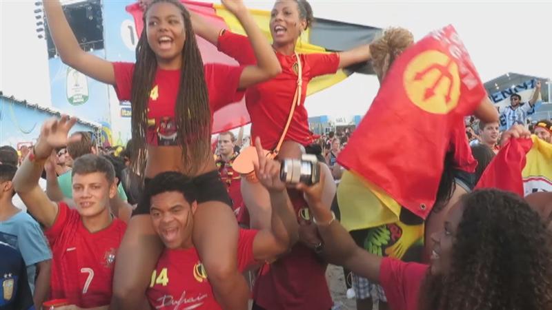 Zelfs Brazilianen zingen 'Waar is da feestje'