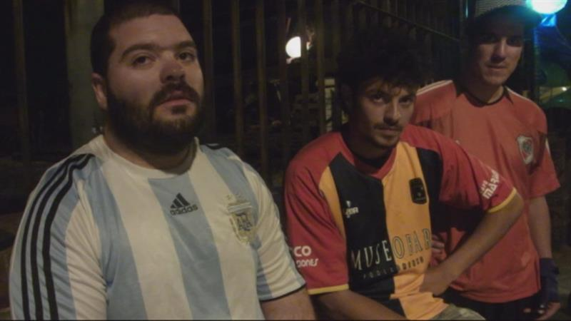 Argentijnse fans rekenen op Messi