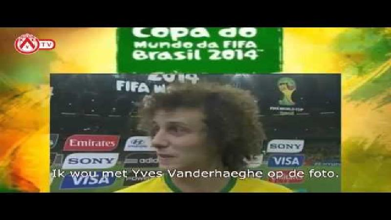 David Luiz wil op Gertjan De Mets lijken