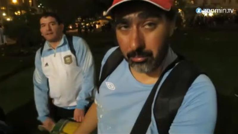 Argentijnse fans huilen na WK-finale