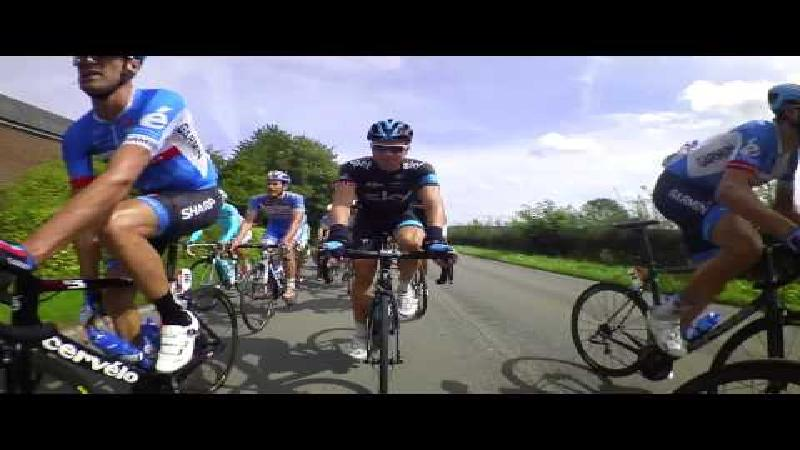 Bike cam compilation Eneco Tour 2014